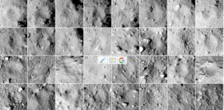 New map of craters tells about the geological evolution of Ryugu