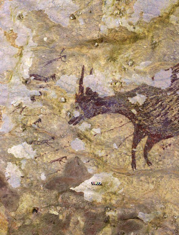 Researchers find the World's oldest artwork in Indonesian cave