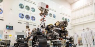 The Mars 2020 mission rover successfully passed sea trials in terrestrial gravity