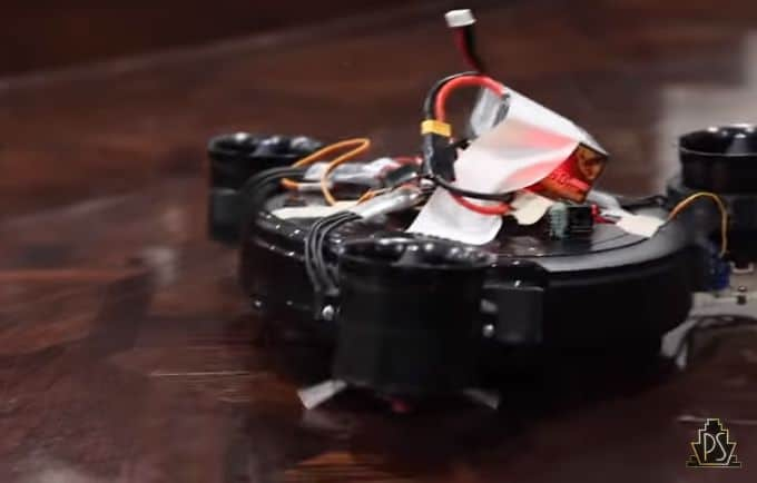 This is how a Robotic Vacuum cleaner learned to fly up stairs