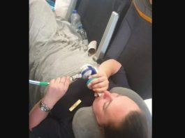A flight attendant suffers seven fractures in one leg due to strong turbulence