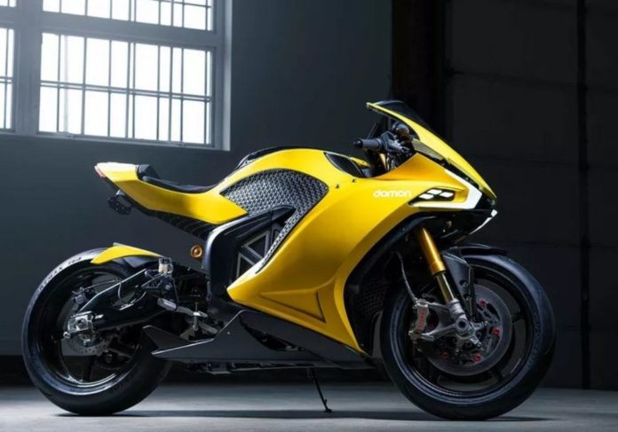 BlackBerry returns with the eye-catching Damon Hypersport Pro electric bike