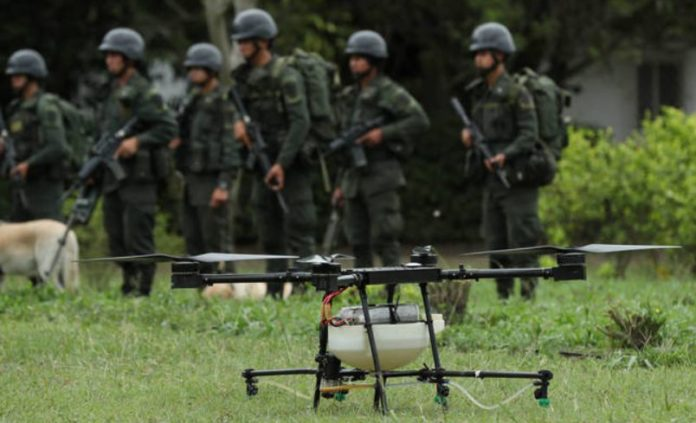 From Narco to 'coyote': the Latin American crime world reinvents the use of the drone