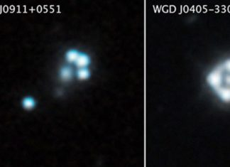 Hubble finds the smallest clumps of dark matter
