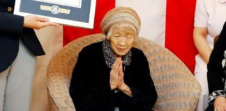 Japan's Kane Tanaka, the oldest woman in the world, turned 117