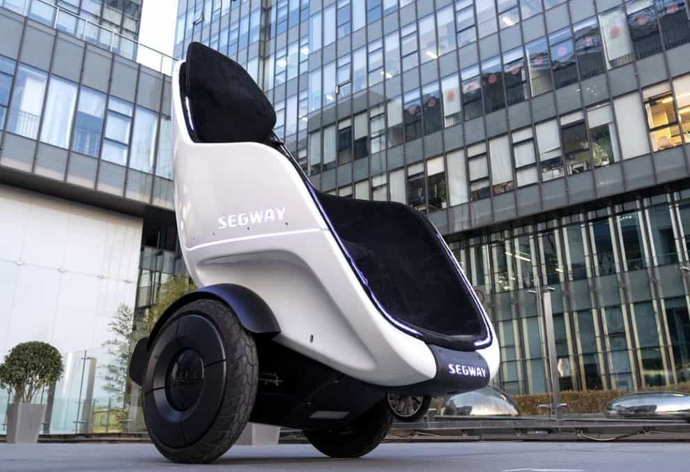 S-Pod by Segway, the seat that brings us closer to the world of Wall-E