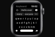 Shift Keyboard presents a new way to write messages on Apple Watch