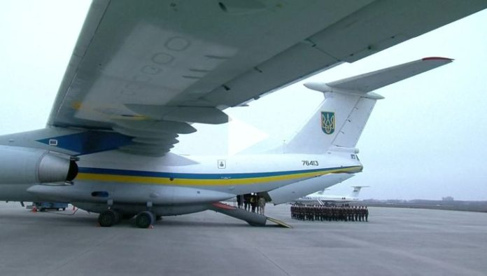 The Ukrainian Plane Crash victims repatriated from Iran
