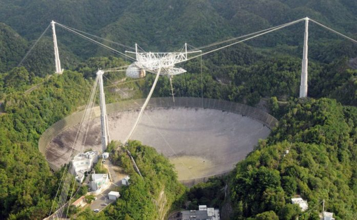 The famous Arecibo Observatory, which alerts us to dangerous asteroids has been closed