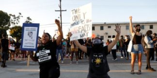 Deadly US police shooting of another young African-American, sparks protests in Los Angeles