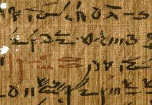 Egyptian papyri inks reveal the secret complex drying techniques