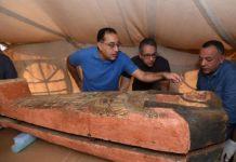 Egyptians found 80 sarcophagi dating back 2,500 years
